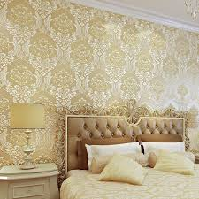 luxury 3d damask wallpaper silver grey tv background wall wallpaper roll modern wall papers home decor for living room bedroom wallpaper hd in desktop