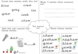 These free phonics worksheets explore the different ways that letters may sound. Phonics Worksheet Ew Teaching Resources