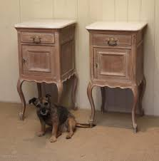 Limed Oak Bedroom Furniture Pair Of French Limed Oak Bedside Cabinets Antiques Atlas