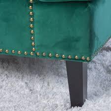 great deal furniture geneva velvet dark green singl on chairs benches pea blue chair dark velvet