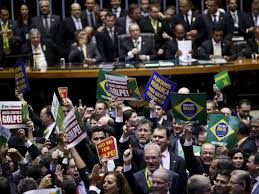 Sessão do impeachment começa com tumulto na Câmara