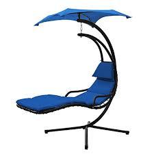 xtremepowerus floating swing hammock lounger