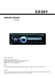 clarion eh1128va 1137va service manual schematics clarion cz300 040210 clarion