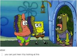 chocolate spongebob guy. Modren Guy You Can Just Hear It By Looking At This  Intended Chocolate Spongebob Guy A