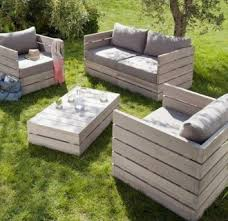 outside furniture made from pallets. Foto Of Patio Furniture Made From Pallets Outside