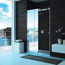 unique mirrored shower doors sliding mirror designs