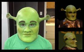 shrek prosthetics child one piece 150