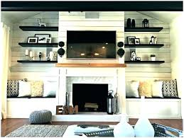 fireplace side shelves fireplace side cabinets with bookshelf built in shelves around ins on each ideas fireplace side shelves fireplace built