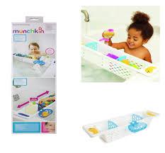 munchkin bath toy storage holder tray tidy basket shelf organiser caddy panier