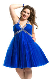 Plus size teen homecoming dress