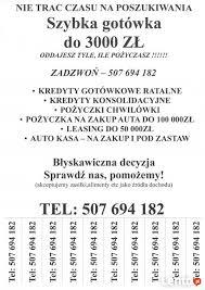 Archiwalne - Pożyczki i kredyty gotówkowe dla osób w BIK