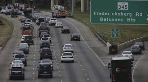 in this january file photo traffic backs up on loop 410 as a part