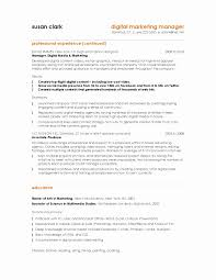 Marketing Resume Templates New 10 Marketing Resume Samples Hiring