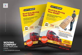 Moving Flyer Template Moving Company Flyer Templates