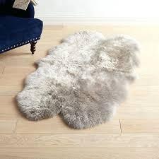 gray sheepskin rug gray sheepskin rug grey and white sheepskin rug