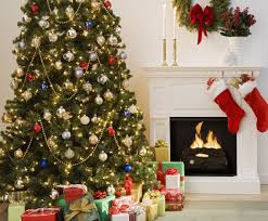 Of Living Rooms Decorated For Christmas Christmas Living Room Decor White Fireplace Iron Fence Fireplace
