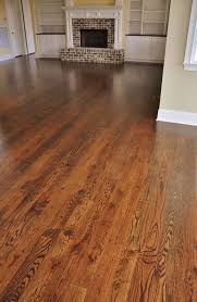 this may be my favorite dark walnut stain on red oak floors