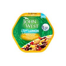 John West Mediterranean Tuna Light Lunch Buy John West Mexican Style Tuna Salad India Fresh N Easy