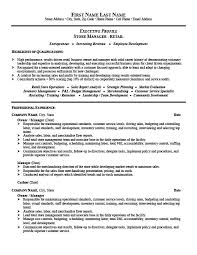 Store Manager or Owner Resume