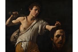caravaggio david with the head of goliath circa 1600 photo courtesy