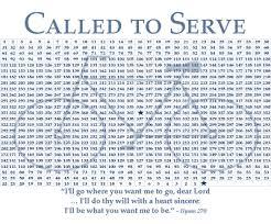 Missionary Countdown Free Printable I Need This I Need