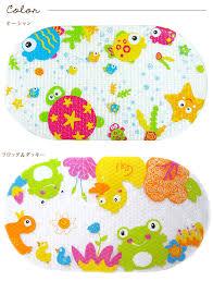 cute er with non slip bath mat anti slip bath mat anti slip baby bathroom fall prevention baby baby