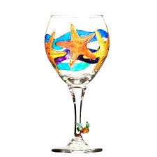 Wine Glass Decorating Designs Painted Wine Glass Designs Check Out These Stunning Hand Painted 40