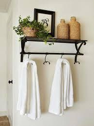 small bathroom towel hooks