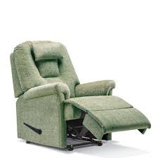 compact recliner chair. Sherborne Milburn Small Manual Recliner Chair Compact
