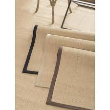 get ations nuloom handmade eco natural fiber cotton border sisal rug 6 x