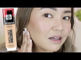 l oreal infallible 24 hour fresh wear foundation