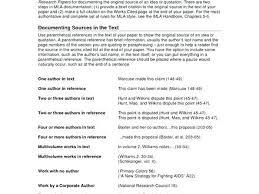 Mla Citation Format Example Mla Citation Essay Example Work Cited Essay Examples Co Work Cited