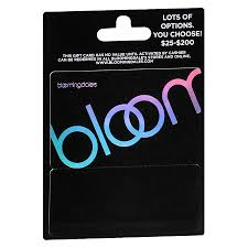 bloomingdales non denominational gift card1 0 ea