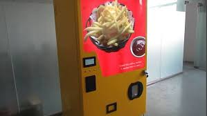 Hot Chip Vending Machine Locations Mesmerizing Hot Chips Company Invents World's First HOT CHIP Vending Machine