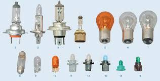 <b>Лампы</b>, применяемые в автомобиле Chevrolet Lacetti