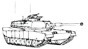 Tank Coloring Pages Army Coloring Pages Army Tank Coloring Page Free