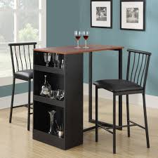 Counter Height Bistro Table Set Amazoncom Dorel Living 3 Piece Counter Height Bar Set Table