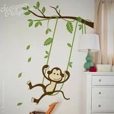monkey wall decals decal my little jungle monkeys