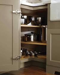 Kitchen Cabinet Storage Creative Design Corner Rotating Kitchen Cabinet Outofhome