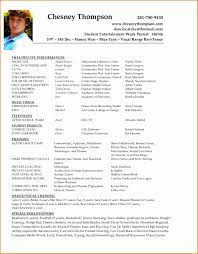 6 How To Make A Resume For Acting Besttemplates Besttemplates