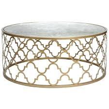 metallic coffee table fieldofscreams within prepare 6