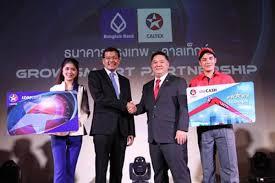 thailand bangkok bank chevron fleet partnership