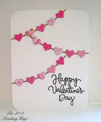 valentines days cards 25 easy diy valentines day cards
