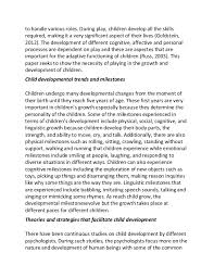 child psychology essay co child psychology essay