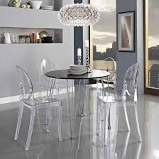 dining table with ghost chairs  with dining table with ghost