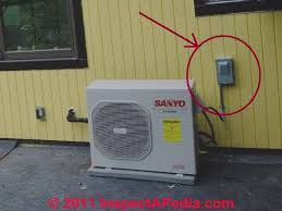 air conditioning outside unit. this switch is normally always \ air conditioning outside unit a