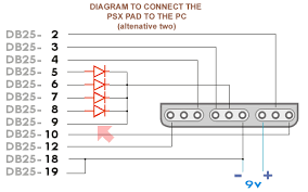 ps2 controller to usb wiring diagram wiring diagrams connect the psx pad to pc