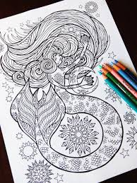 Small Picture Mermaid coloring page Candy Hippie Coloring Pages