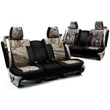 premium water resistant neoprene camo seat covers