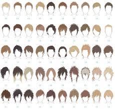 Hair Style Anime haare sagen ebenfalls viel ber den charakter des jungen die 6265 by wearticles.com